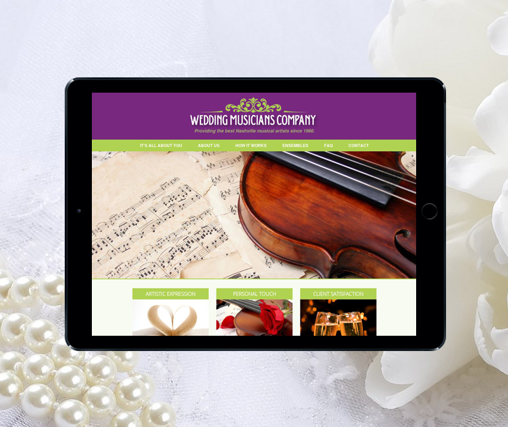 Case Study: Wedding Musicians Company