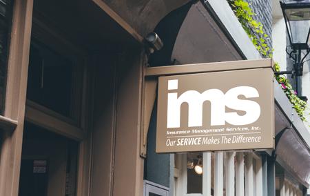 IMS Benefits signage