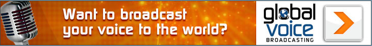 Global Voice Broadcasting web advertisement