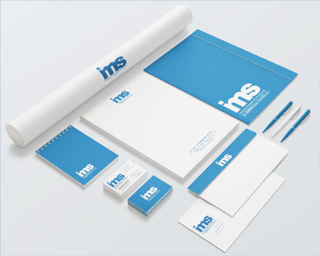 IMS Benefitsts Corporate Identity package