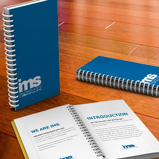 IMS Benefits corporate identity package