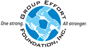 Group Effort Foundation logo design and tagline development