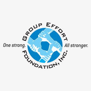 Group Effort Foundation, Inc logo and collateral design