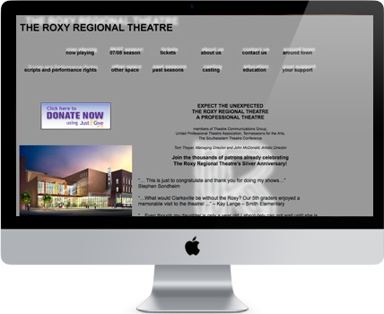 roxy-website-old