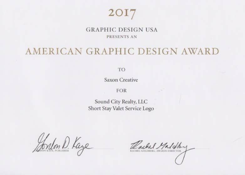 GDUSA American Graphic Design Award 2017