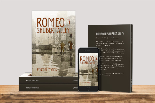 Romeo in Shubert Alley by George Yanok
