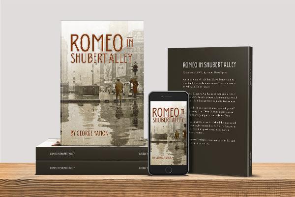 Romeo in Shubert Alley by George Yanok