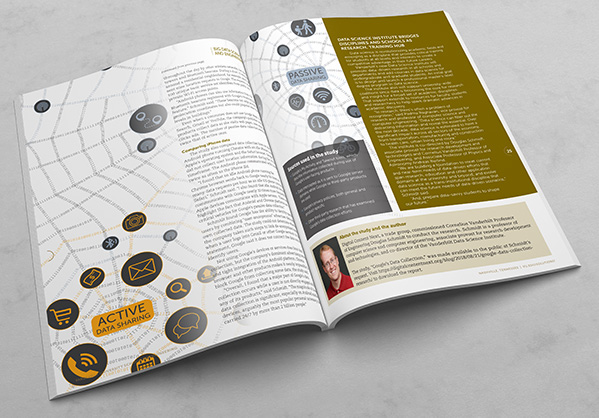 Vanderbilt University School of Engineering Solutions Magazine 2018-2019 inside spread