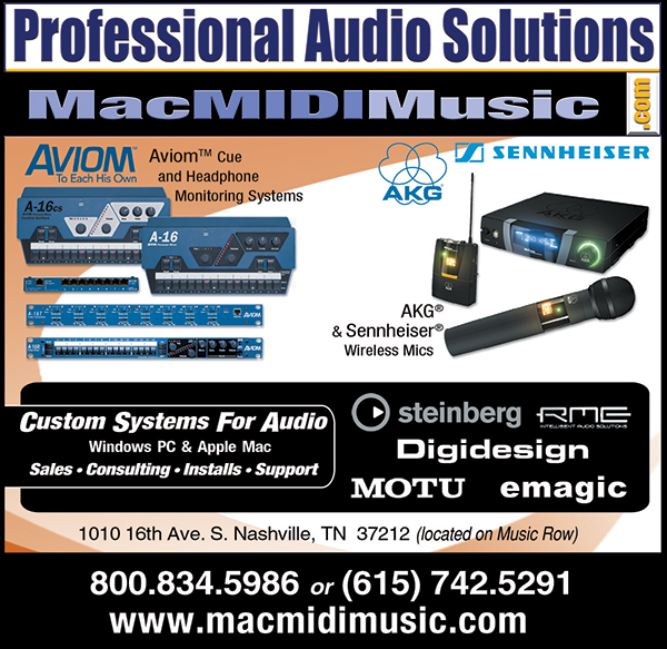 Professional Audio Solutions print ad