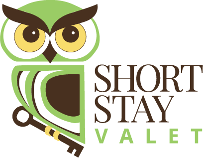 Short Stay Valet new service branding and logo design